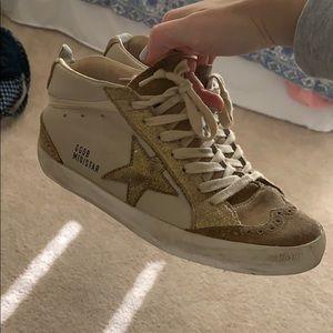 mid star golden goose sneakers